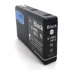 Tinteiro compatível Epson T7901 Preto